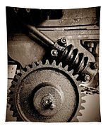 Gear In Sepia Tapestry