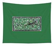 Gecko Tapestry