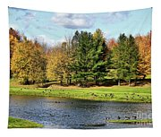 Geese Sanctuary Tapestry