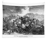 General Custer's Death Struggle  Tapestry