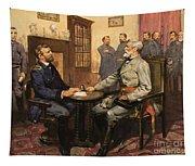 General Grant Meets Robert E Lee  Tapestry