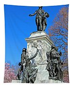 General Lafayette Memorial In Lafayette Square Tapestry