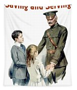 General Pershing - Buy War Saving Stamps Tapestry