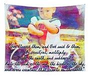 Genesis 1 28 Tapestry