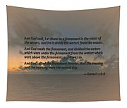 Genesis 1 6-8 Let There Be A Firmament In The Midst Of The Waters Tapestry