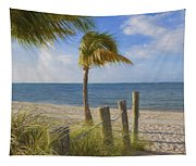 Gentle Breeze At The Beach Tapestry