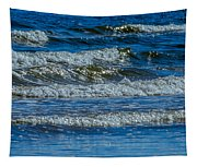 Gentle Roll Of The Waves Tapestry