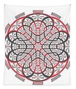 Geometric Mandala Tapestry
