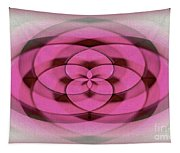 Geometrical Colors And Shapes 4 - Hearts Tapestry