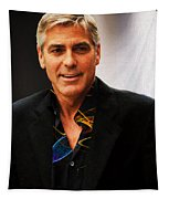 George Clooney Painting Tapestry