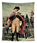George Washington At Dorchester Heights Tapestry