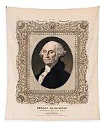 George Washington - Vintage Color Portrait Tapestry