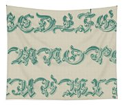 German Arabesque  Tapestry