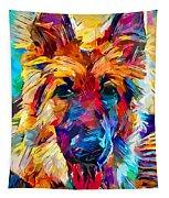 German Shepherd 6 Tapestry