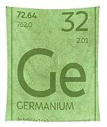 Germanium Element Symbol Periodic Table Series 032 Tapestry