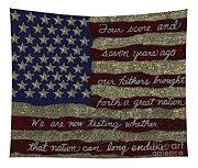 Gettysburg Homage Flag Tapestry