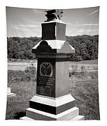 Gettysburg National Park 6th Wisconsin Iron Brigade Monument Tapestry