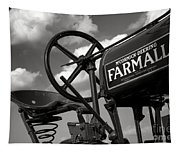 Ghost Of Farmall Past Tapestry