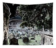Ghostly Cemetary Tapestry