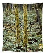 Ghostly Forest Tapestry