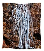 Ghostly Roots Tapestry