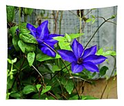 Giant Blue Clematis Tapestry