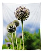 Giant Globe Thistle Tapestry