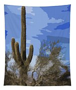 Giant Saguaro Tapestry