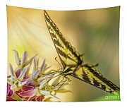 Giant Swallowtail With Yosemite Showy Milkweed Tapestry