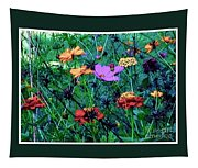 Gift Of Flowers Tapestry