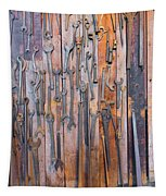 Gigantic Wrenches Tapestry