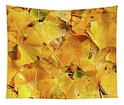Ginkgo Biloba Leaves Tapestry