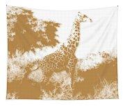 Giraffe 2 Tapestry
