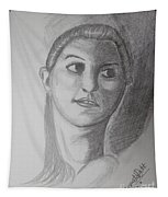 Girl Tapestry