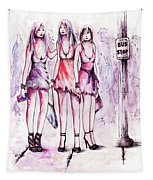 Girls Night Out Tapestry