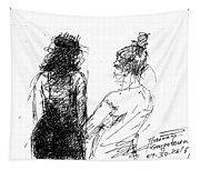 Girls Tapestry