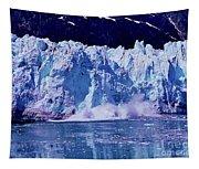 Glacier - Calving - Reflection Tapestry