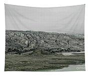 Glacier In Iceland Tapestry