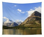 Glacier National Park Mountains Tapestry