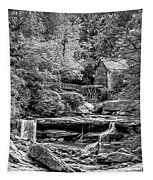 Glade Creek Grist Mill 3 - Paint 2 Bw Tapestry