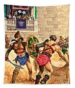 Gladiators Tapestry