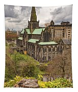 Glasgow Cathedral From The Necropolis Tapestry