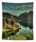 Glass Lake Tapestry