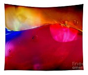 Glass Paint Abstract Dark Tapestry