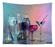 Glassy Still Life Tapestry