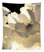 Gleaming White Tapestry