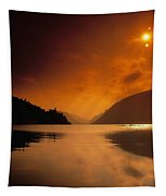 Glenveagh Castle And Lough Veagh Tapestry