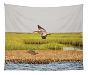 Gliding Over A Shell Island Tapestry