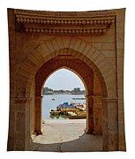 Glimpse Of Gadisar Lake Tapestry