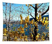 Glimpse Of Kalamalka Lake Tapestry